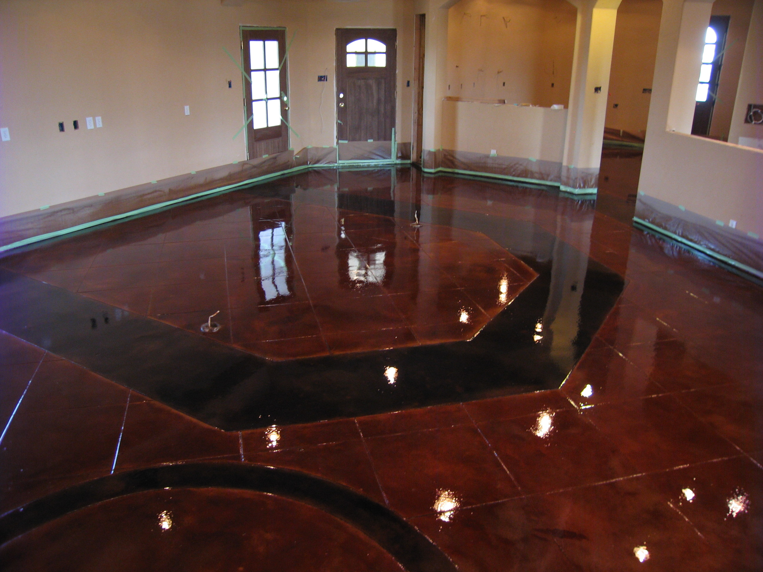 Stamped Concrete, Acid Stain, Polished Concrete Dallas/Fort Worth